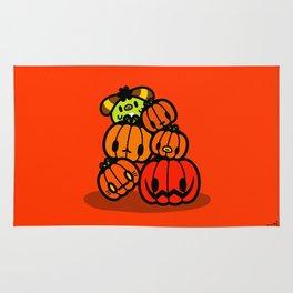 Rin Rin pumpkin Halloween Rug