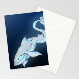 Great White Ghost Stationery Cards