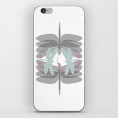 dragonfly pattern 5 iPhone & iPod Skin