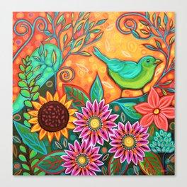 Bird Watcher Canvas Print