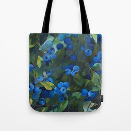 A Blueberry View Tote Bag