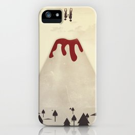 Fall With Me iPhone Case