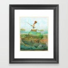 Fisherman Framed Art Print