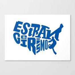 Estrangeirismos US Canvas Print