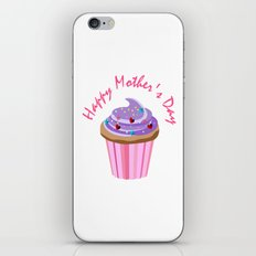 Happy Mother's Day Cupcake iPhone & iPod Skin