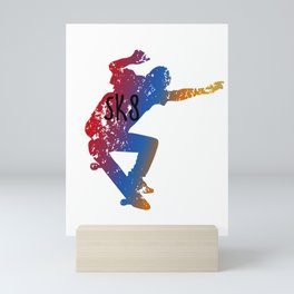Awesome & Cool Skating and Skateboarding Mini Art Print