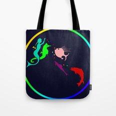 Rainbow Ocean Tote Bag