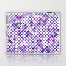 Purple Squared Laptop & iPad Skin
