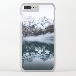 The Winter Tundra Clear iPhone Case
