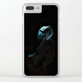 Humanity - Mountain Gorilla in Moonlight Clear iPhone Case