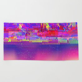 Auroralloverdrive Beach Towel