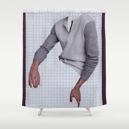 Masculine Hands Shower Curtain