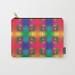 Star Rainbow Triangle Mandala  Carry-All Pouch