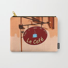 Le Cafe, France Carry-All Pouch