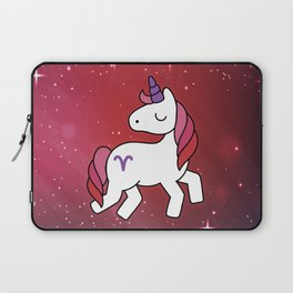 Aries Unicorn Zodiac Laptop Sleeve