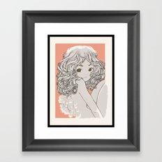 Engelchen Framed Art Print