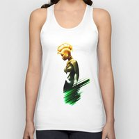 storm Tank Tops featuring Storm by Luke Fisher