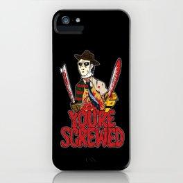 Slasher Mash (SFW) iPhone Case
