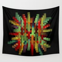 popsicle Wall Tapestries featuring Popsicle Sticks by David Lee