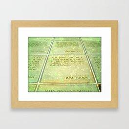 Joan Bodon Framed Art Print