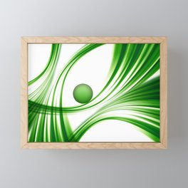 Green 113 Framed Mini Art Print