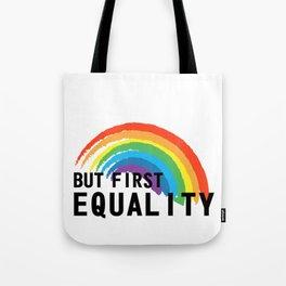 Equality Gay Lesbian Homo Gift Tote Bag