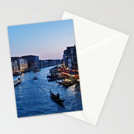 Venice at dusk - Il Gran Canale Stationery Cards
