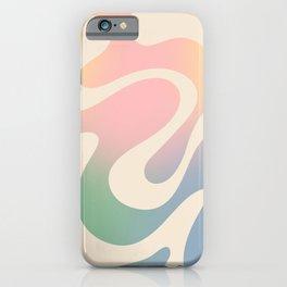 Simple Liquid Pattern iPhone Case