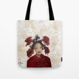 Together Again Abstract Tote Bag