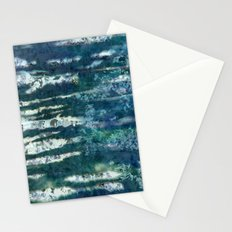 Patterned Crystals Stationery Cards