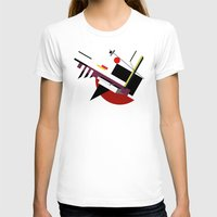 kandinsky T-shirts featuring STARSHIP by THE USUAL DESIGNERS