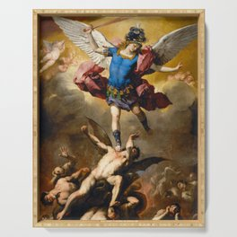 The Fall of the Rebel Angels Serving Tray