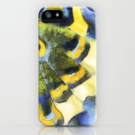 Old World Swallowtail Butterfly wing iPhone Case
