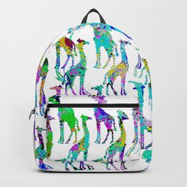 Disco Zoo Patterns Backpack
