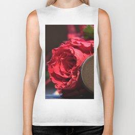 Heart roses | Coeur avec des roses Biker Tank