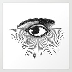 Seeing Stars Art Print