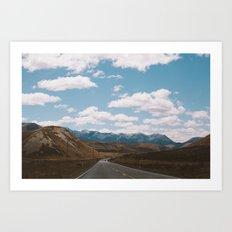 Road to Arthur's Pass I Art Print