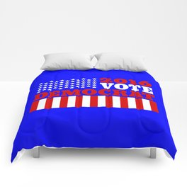Vote Democrat  Comforters