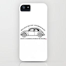 Bundy Road Trip iPhone Case