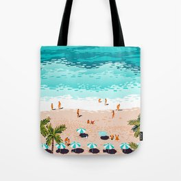 Dream in Colors Borrowed From The Sea #illustration Tote Bag