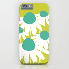 Flowers on Green by Friztin iPhone 6s Slim Case