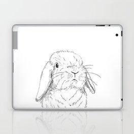 Curious Bunny Laptop & iPad Skin