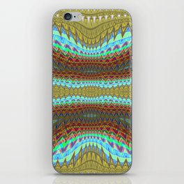 Earth Layers zigzag Abstract 1 iPhone Skin