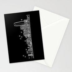 Oklahoma City skyline Stationery Cards