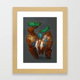 Tree Golem Framed Art Print