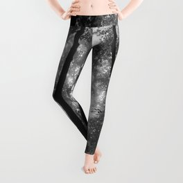 Smoky Mountain National Park Foggy Trees Leggings