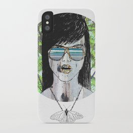 Tropical Zombie  iPhone Case