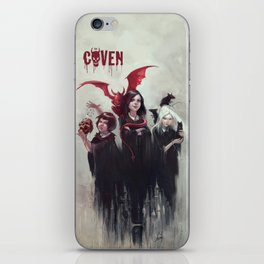THE COVEN iPhone Skin