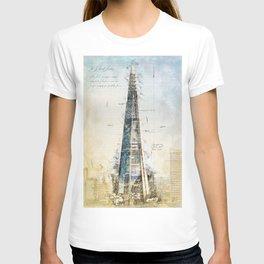 The Shard, London England T-shirt