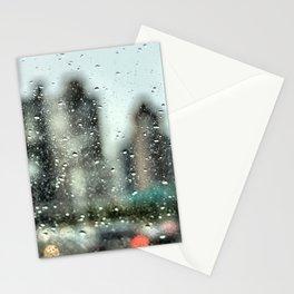 Rain Along FDR Drive, New York City Stationery Cards